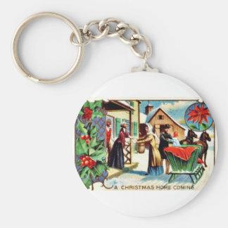 Vintage Christmas Key Chains