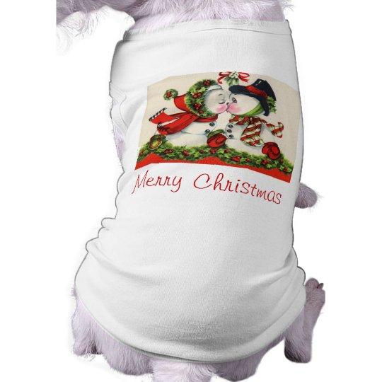 Vintage Christmas Kiss T-Shirt