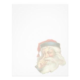 Vintage Christmas Letterhead Stationery