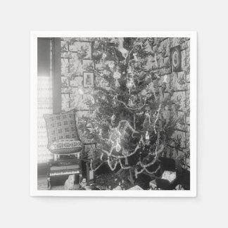 Vintage Christmas Memories Napkin