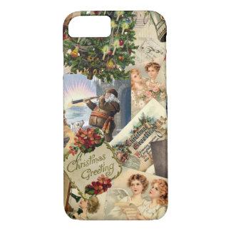 Vintage Christmas Mix iPhone 7 Case