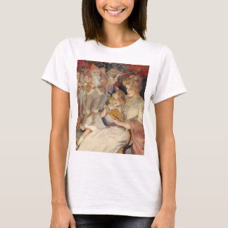 Vintage Christmas, Mother Reading Bedtime Story T-Shirt