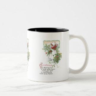Vintage Christmas Mug