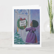 Vintage Christmas - My House to Yours, Card