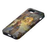 Vintage Christmas Nativity with Visiting Magi iPhone 5 Covers