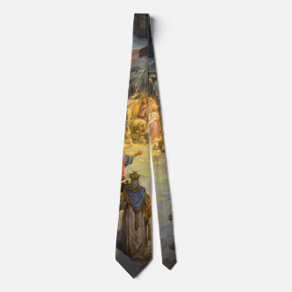Vintage Christmas Nativity with Visiting Magi Neck Tie