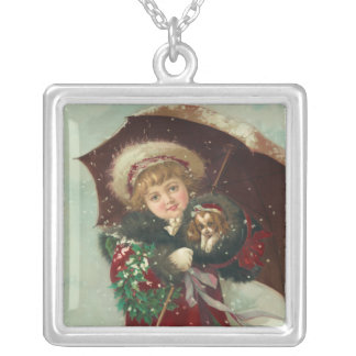 Vintage Christmas Necklace