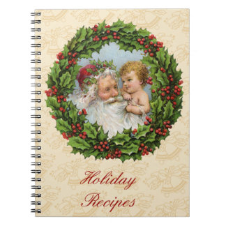 Vintage Christmas Note Book