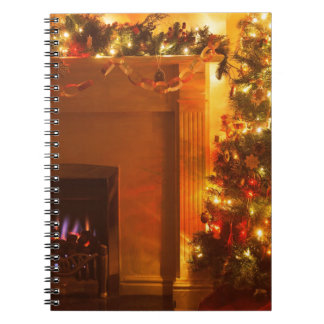 Vintage Christmas Notebook