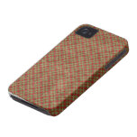 Vintage Christmas Plaid Blackberry Bold 9700/9780 Case-Mate iPhone 4 Case