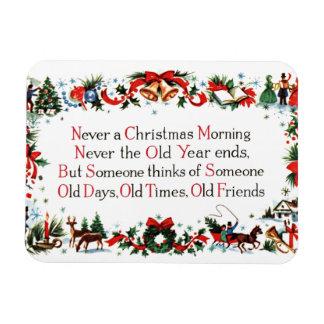 Vintage Christmas Poem Magnet