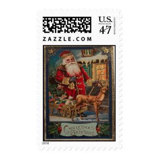 Vintage Christmas Postage