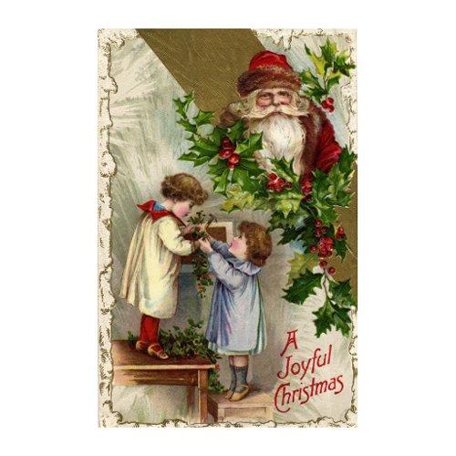 Vintage Christmas Postcard postcard
