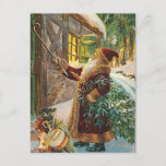 "Vintage Christmas Postcard<br><div class=""desc"">Vintage Christmas Postcard.  bring the holiday vintage back in your life with this easy postcard to send to friends and family.</div>"