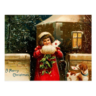 Old fashion christmas cards amp postage