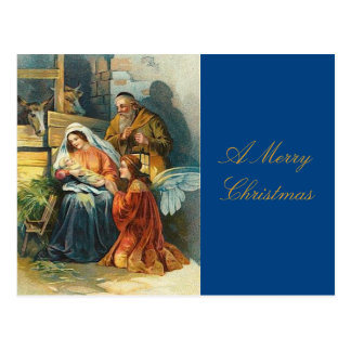 Vintage Christmas Postcard Baby Jesus