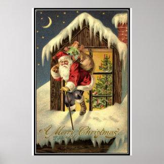 Vintage : Christmas - Poster
