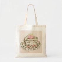 Vintage Christmas Queen of Cakes Bag