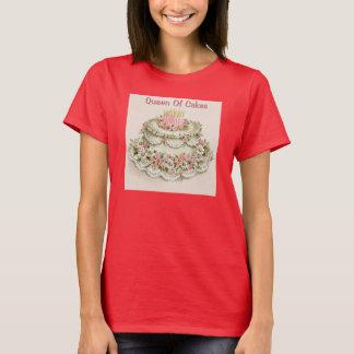 Vintage Christmas Queen of Cakes Custom Tee
