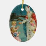 Vintage Christmas Saint Nicholas Christmas Tree Ornament