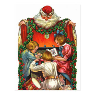 Vintage Christmas Saint Nicholas Postcard