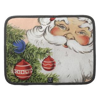 Vintage Christmas Santa Claus Planner