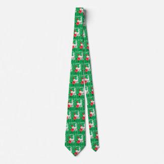 Vintage Christmas, Santa Claus Singing and Dancing Neck Tie