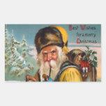 Vintage Christmas Santa Claus Stickers