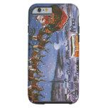 Vintage Christmas, Santa Claus Tough iPhone 6 Case