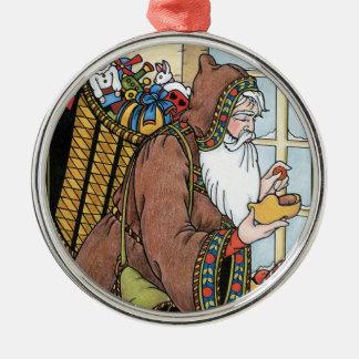 Vintage Christmas Santa Claus Toys Clogs Shoes Christmas Ornament