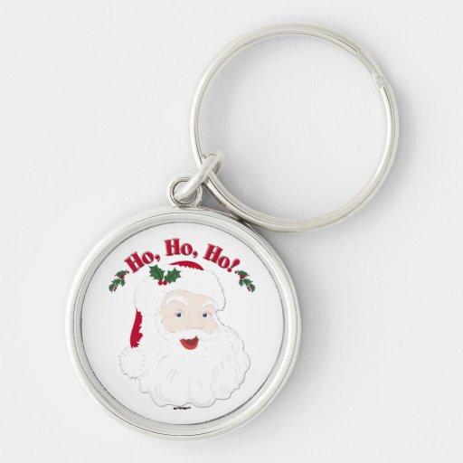 Vintage Christmas Santa Ho,Ho,Ho! Key Chains