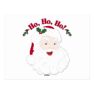 Vintage Christmas Santa Ho,Ho,Ho! Postcard