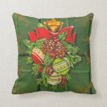 Vintage Christmas Seasonal Pillows