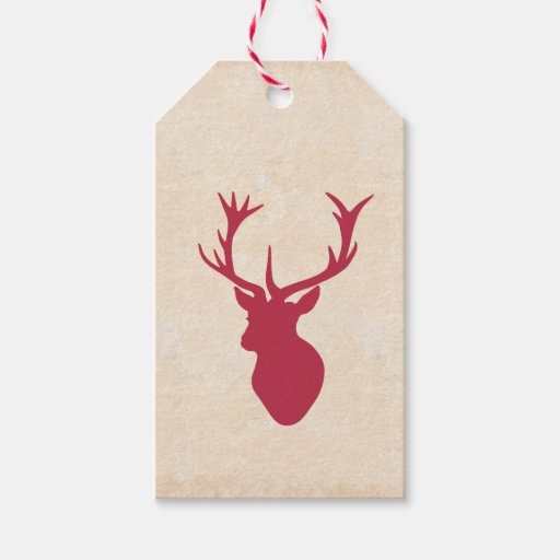 Vintage Christmas Stag Pack Of...