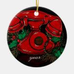Vintage Christmas Telephone Ornament