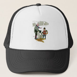 Vintage Christmas The Real Mother Goose Trucker Hat