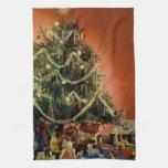 Vintage : Christmas - Towel