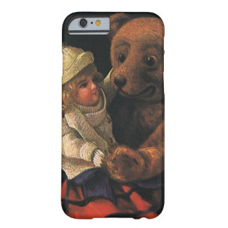 Vintage Christmas Toys, Doll and Teddy Bear Barely There iPhone 6 Case