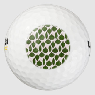 Vintage Christmas Tree Ornaments Golf Balls