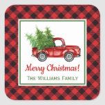 """Vintage Christmas Truck 