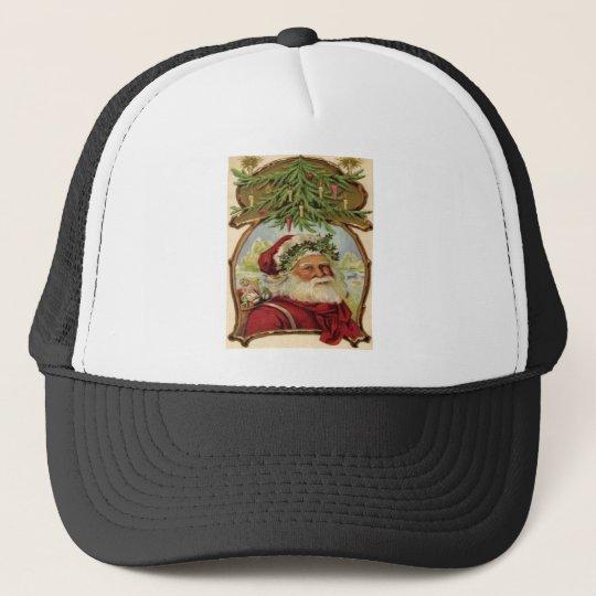 Vintage Christmas Trucker Hat