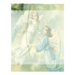 Vintage Christmas, Victorian Angels with a Bell Letterhead