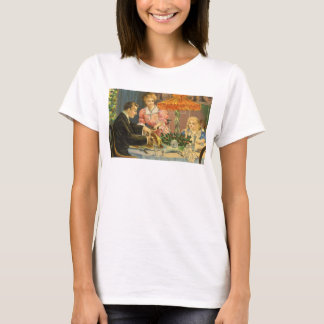 Vintage Christmas, Victorian Family Dinner T-Shirt