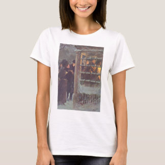 Vintage Christmas, Victorian People at a Party T-Shirt
