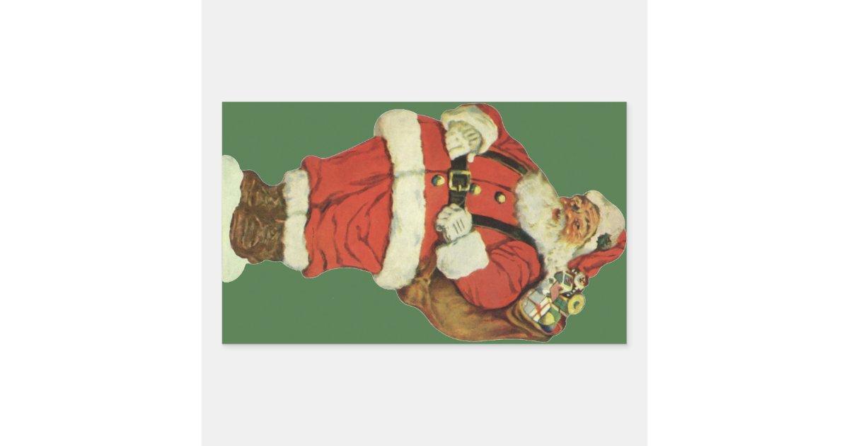 vintage christmas victorian santa claus with toys. Black Bedroom Furniture Sets. Home Design Ideas