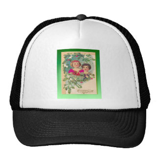 Vintage Christmas wishes Trucker Hat