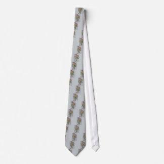 Vintage Chrysanthemum Birthday Neck Tie