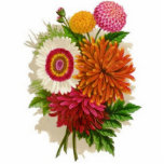 """Vintage Chrysanthemums Statuette<br><div class=""""desc"""">Vintage Chrysanthemums Check out all these other great gift ideas! Customize or personalize any of these items by adding your own text such as names, places or things as well as adding your own graphics to create a unique and original items, office products or gift ideas for any occasion or...</div>"""