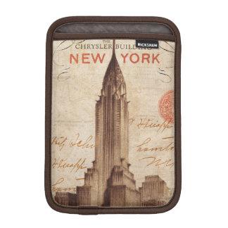 Vintage Chrysler Building in New York iPad Mini Sleeves