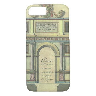 Vintage Church Door Entry Renaissance Architecture iPhone 8/7 Case